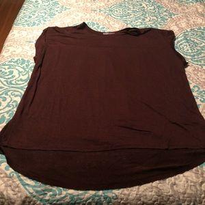 NWOT Maroon T-Shirt